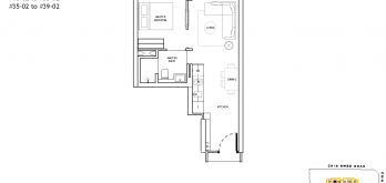 The-Landmark-Floor-Plan-1-Bedroom-Type-A2