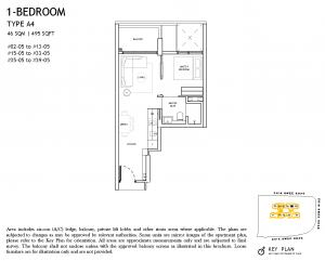 The-Landmark-Floor-Plan-1-Bedroom-Type-A4