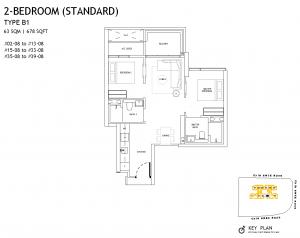 The-Landmark-Floor-Plan-2-Bedroom-Type-B1