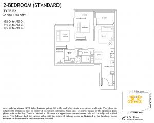 The-Landmark-Floor-Plan-2-Bedroom-Type-B2