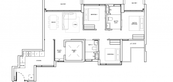The-Landmark-Floor-Plan-3-Bedroom-compact-Type-C1