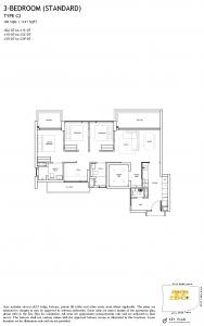 The-Landmark-Floor-Plan-3-Bedroom-standard-Type-C2